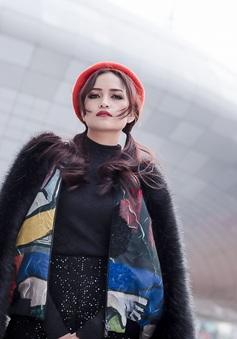 Ngọc Châu nổi bần bật tại Tuần lễ thời trang Seoul