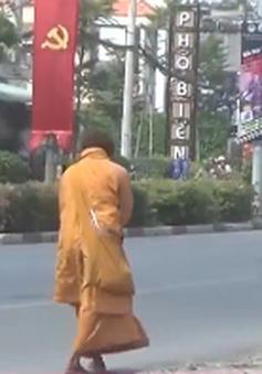 Nạn sư giả đi khất thực lại tái diễn vào mùa lễ hội ở Bình Dương