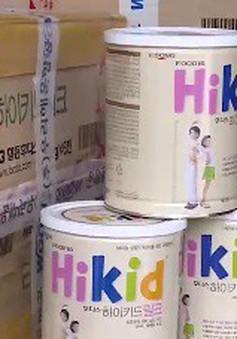 Hà Nội: Bắt vụ nhập lậu sữa nước lớn nhất từ trước đến nay