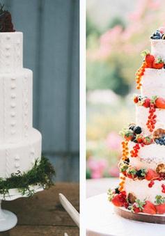 Những chiếc bánh cưới khiến bạn muốn ngắm mãi không thôi