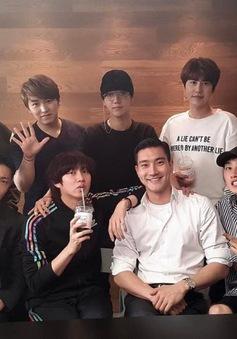 Các thành viên của Super Junior bất ngờ tụ họp