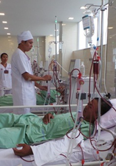 34% bệnh nhân chạy thận nhân tạo bị nhiễm khuẩn