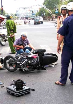 Tai nạn giao thông tăng cao trong ngày 1/5