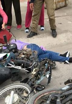 Va chạm giữa hai xe máy, cô giáo trẻ thiệt mạng