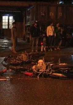 Quảng Trị: Hai xe máy va chạm mạnh, 5 người thương vong