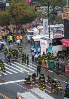 Tai nạn ô tô nghiêm trọng tại Mỹ, ít nhất 3 người thiệt mạng