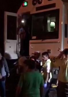 Hai tàu hỏa đâm nhau ở Costa Rica, 60 người bị thương
