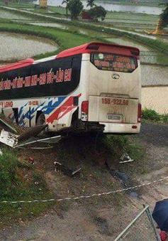 Xe khách nổ lốp trên cao tốc Hà Nội - Lào Cai: Phụ xe tử vong, 13 người bị thương