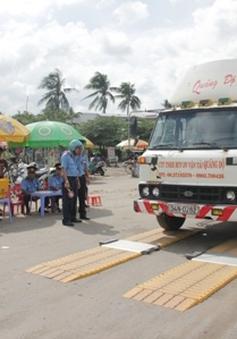 Đà Nẵng tăng cường kiểm tra tải trọng xe