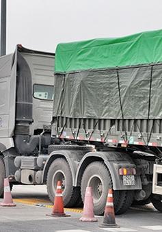 Nhiều địa phương chưa xử lý xe vi phạm chở quá tải
