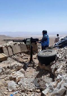 Quân đội Syria và Hezbollah tấn công IS ở phía Tây Qalamoun