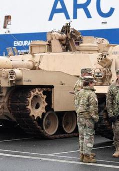 Mỹ triển khai quân rầm rộ ở Đông Âu