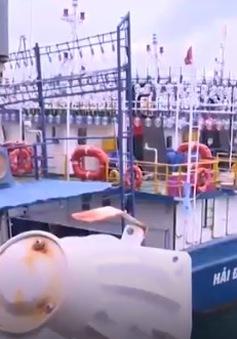 Trách nhiệm của các bên khi tàu vỏ thép Bình Định bị hư hỏng