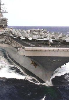 Mỹ và Nhật Bản tập trận hải quân chung