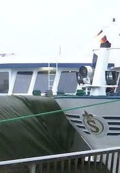Tai nạn tàu thủy tại Đức, 30 người bị thương