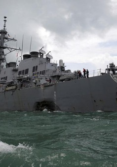 Mỹ xác định vị trí thi thể các thủy thủ mất tích