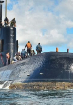 Phát hiện tín hiệu mới khi tìm kiếm tàu ngầm Argentina