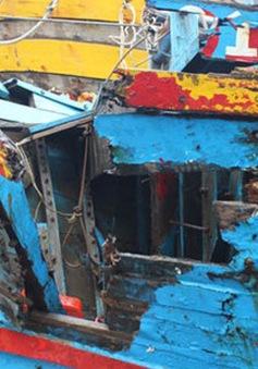 Xác định tàu vỏ sắt đâm chìm tàu ngư dân tại vùng biển Đà Nẵng