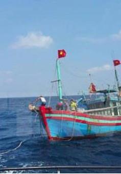 Cứu nạn thành công 6 ngư dân Nam Định gặp nạn trên biển