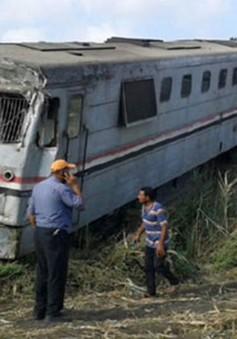Tai nạn đường sắt thảm khốc ở Ai Cập, hơn 100 người thương vong