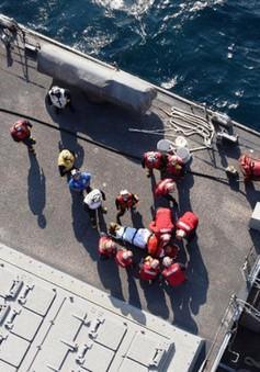 Tìm thấy thi thể các binh sĩ Mỹ trong vụ va chạm tàu khu trục