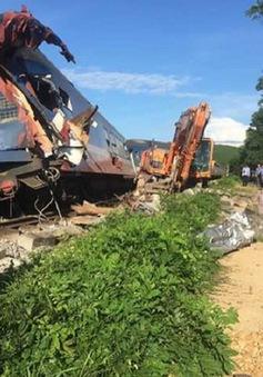 Ngành đường sắt thiệt hại nặng sau vụ lật tàu ở Quảng Bình