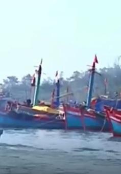 Nhiều tàu cá và ngư dân Quảng Ngãi bị nước ngoài tạm giữ