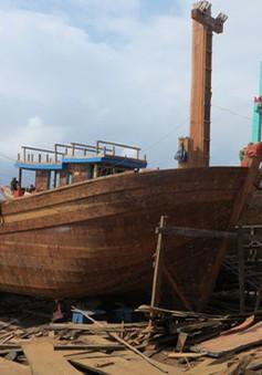 Tháo gỡ khó khăn trong sửa chữa tàu cá