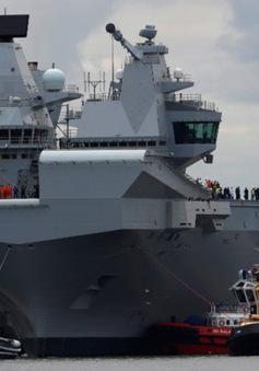 Anh hạ thủy tàu sân bay lớn nhất trong lịch sử