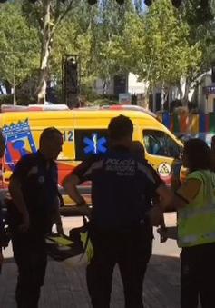 Tai nạn tàu lượn tại Tây Ban Nha