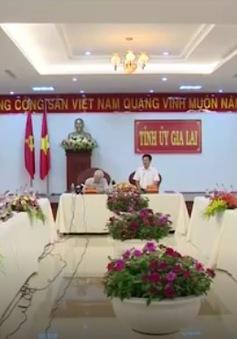 Tổng Bí thư Nguyễn Phú Trọng làm việc với lãnh đạo tỉnh Gia Lai