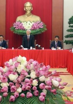 Tổng Bí thư tiếp các Trưởng cơ quan đại diện Việt Nam ở nước ngoài