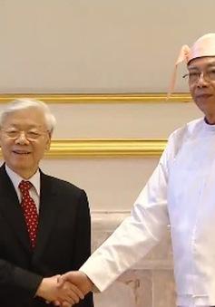 Việt Nam – Myanmar xác lập quan hệ đối tác hợp tác toàn diện