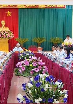 Tổng Bí thư làm việc với Ban thường vụ tỉnh Nghệ An