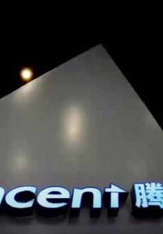 Tencent đánh bật Facebook khỏi top 5 công ty có giá trị lớn nhất thế giới
