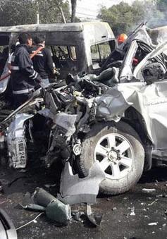 Tai nạn giao thông tại Thái Lan, 25 người thiệt mạng