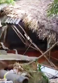 Mưa lũ gây thiệt hại nặng nề tại Thái Nguyên