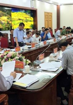 Kiểm tra, giám sát việc xử lý các vụ án tham nhũng tại Lào Cai