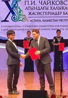 Việt Nam giành giải tại cuộc thi Tchaikovsky