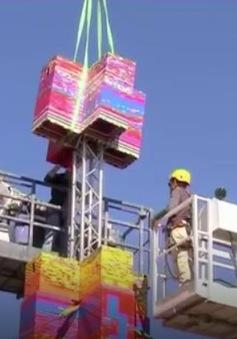 Chiêm ngưỡng tòa tháp nhựa cao nhất thế giới