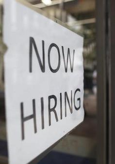 Mỹ: Tỷ lệ thất nghiệp xuống mức thấp nhất trong 1 thập kỷ