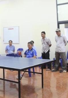 Giao hữu thể thao mừng Quốc khánh Việt Nam tại Lào