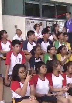 ĐH Thể thao học sinh Đông Nam Á: Tuyển điền kinh Việt Nam giành 9 HCV