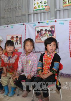 Kon Tum: Tăng cường dạy tiếng Việt cho trẻ em dân tộc thiểu số trước khi vào lớp 1
