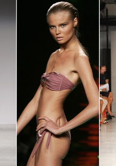 Pháp tẩy chay người mẫu siêu gầy, chuẩn mực cái đẹp sẽ bị xóa bỏ?
