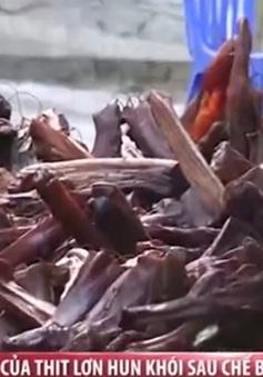 """""""Hô biến"""" thịt lợn thối thành đặc sản thịt hun khói Cao Bằng"""