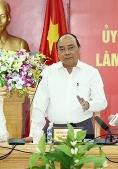Thủ tướng yêu cầu Hà Tĩnh phát triển kinh tế gắn với bảo vệ môi trường