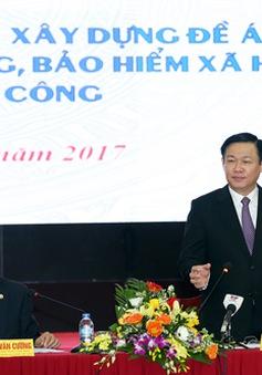 Phó Thủ tướng đề nghị làm rõ việc tính toán, thiết kế thang bảng lương