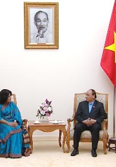 Thủ tướng Nguyễn Xuân Phúc tiếp Đại sứ Bangladesh