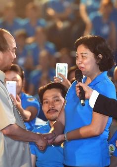 Thủ tướng đối thoại với công nhân miền Trung